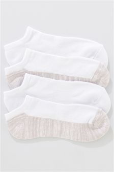 Footbed Socks Four Pack