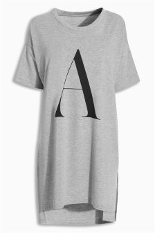 Jersey Alphabet Night T-Shirt