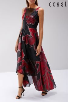 Coast Black Isla Maxi Dress