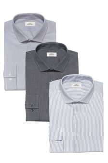 Regular Fit Shirts Three Pack