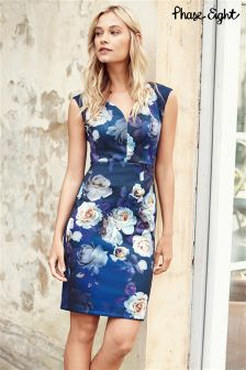 Phase Eight Navy Camilla  Dress