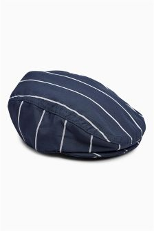 Stripe Smart Flat Cap (0mths-2yrs)