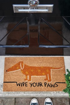 Sid The Sausage Dog Doormat