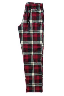 Cosy Check Long Bottoms