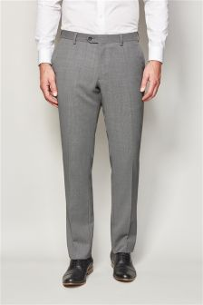 Machine Washable Birdseye Suit Trousers