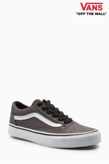 Vans Black Glitter Old Skool