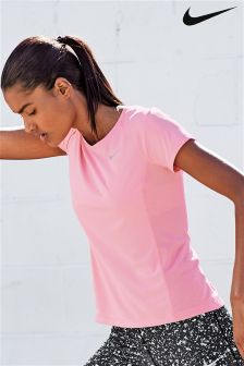Nike Pink Dry Miler Top