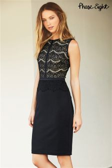 Navy Phase Eight Ivy Lace Dress
