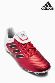 adidas Red/White Copa Firm Ground Football Boot