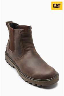 Cat® Dark Brown Stoic Chelsea Boot