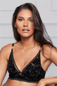 Phoebe Flock High Apex Bra