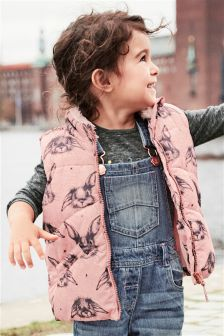 Printed Gilet (3mths-6yrs)