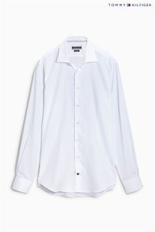 Tommy Hilfiger White Tailored Fit Shirt