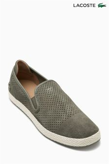 Lacoste® Tombre Perforated Slip-On