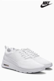 Nike White Oxford Air Max Thea