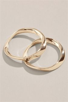 Twisted Rings Two Pack