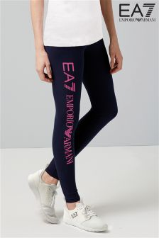 Emporio Armani EA7 Navy Logo Legging