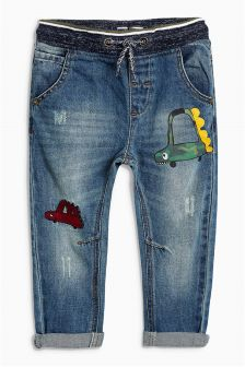 Pul-On Car Jeans (3mths-6yrs)