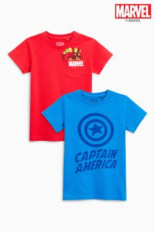 Marvel® T-Shirts Two Pack (3-16yrs)