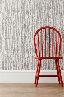 Paste The Wall Nordic Tree Print Wallpaper