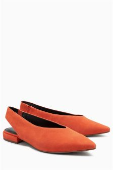 Pointed Slingbacks