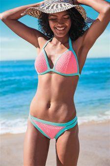 Crochet Padded Underwire Bikini Top