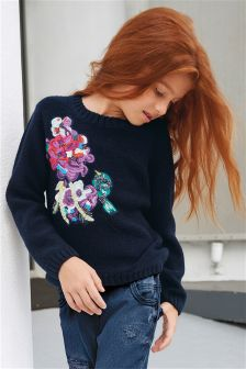 Embroidered Sweater (3-16yrs)