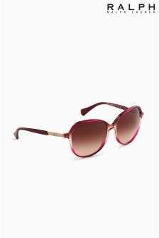 Ralph Lauren Red Ombre Slim Arm Sunglasses