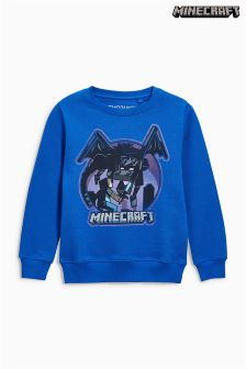Minecraft Crew Neck Sweat Top (4-14yrs)