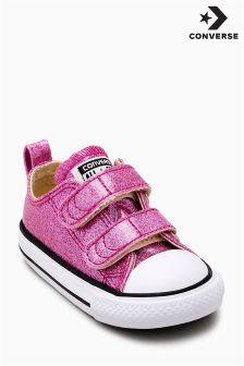 Converse Glitter 2 Strap Velcro