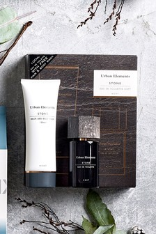 Urban Elements Stone Fragrance Gift Set