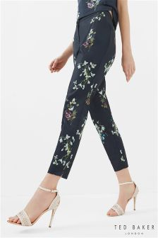 Ted Baker Black Elopia Entangled Enchantment Trouser