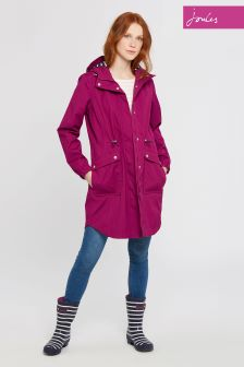 Joules Berry Waterproof Coastline Parka