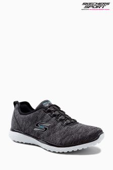 Skechers® Grey Microburst On The Edge Trainer