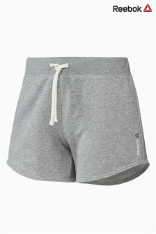 Reebok Run Grey Marl Jersey Short