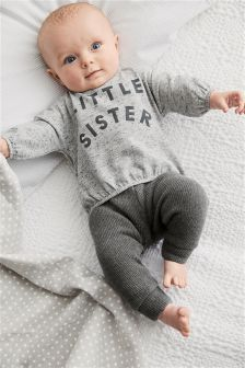 Little Sister T-Shirt (0mths-2yrs)