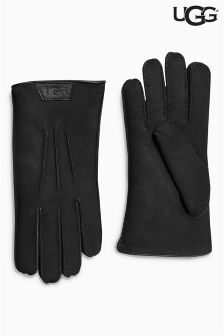 Ugg® Black Sheepskin Gloves