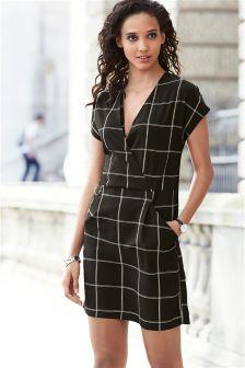 Wrap Front Dress
