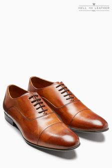 Burnished Oxford Toe Cap