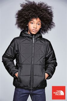The North Face® Black Reversible Perrito Jacket