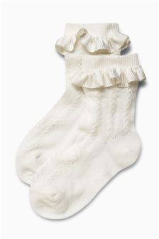 Frill Socks 2 Pack (Older Girls)