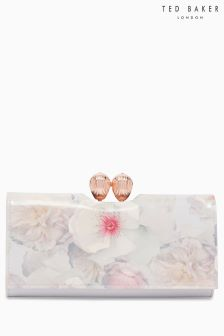 Ted Baker Grey Sundayy Floral Print Purse