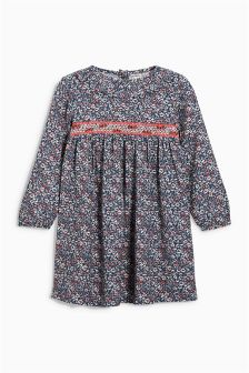 Pretty Ruffle Collar Dress (3mths-6yrs)