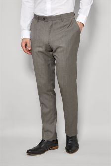 Wool Rich Blend Suit: Trousers