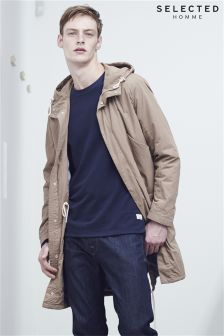Selected Homme Stone Parka Jacket