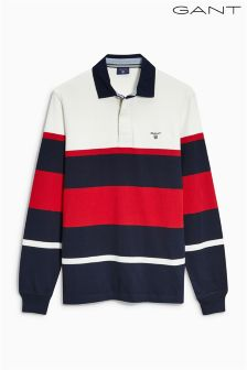 Gant Navy/White Rugby Shirt