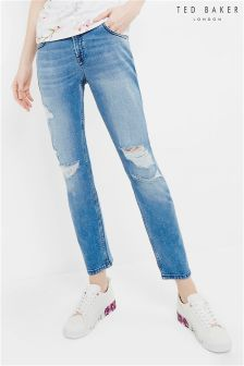 Ted Baker Mid Wash Chelsea Ripped Jean