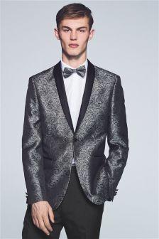 Paisley Tuxedo Slim Fit Suit