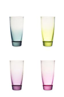 Set Of 4 Pastel Tonal Tumblers