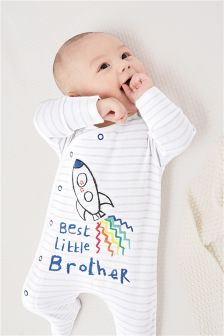 Brother Sleepsuit (0-18mths)
